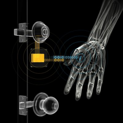 una serratura basata sul sistema RFID